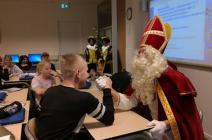Sinterklaas op Veluvine
